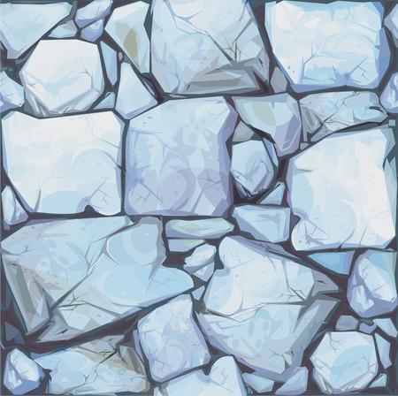 자갈: 회색 색의 돌의 원활한 질감입니다.