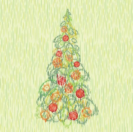 yearrn: Retro Christmas card.