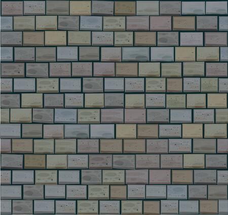 Nahtlose Textur der Steine in grauen Farben.  Vektorgrafik