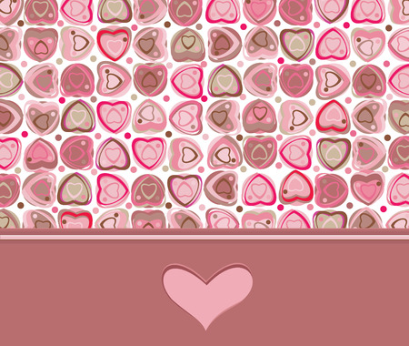 valentines card: Valentines card Illustration