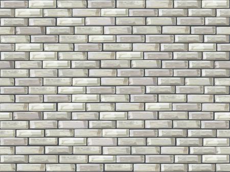 brick house: Vector seamless of brick wall.