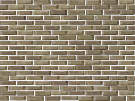 Vector seamless of brick wall. Stock Vector - 9096439