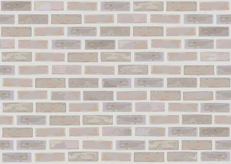 Vector seamless brick wall. Stock Vector - 9164258