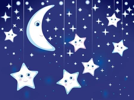 'starry night': Starry night.