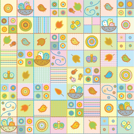 Seamless cute pattern.  Stock Vector - 10510482
