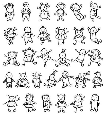 Happy kids. Stock Vector - 10510480