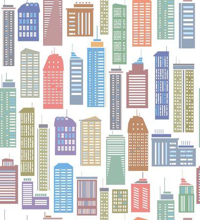 미드 타운: 화려한 도시의 원활한 패턴