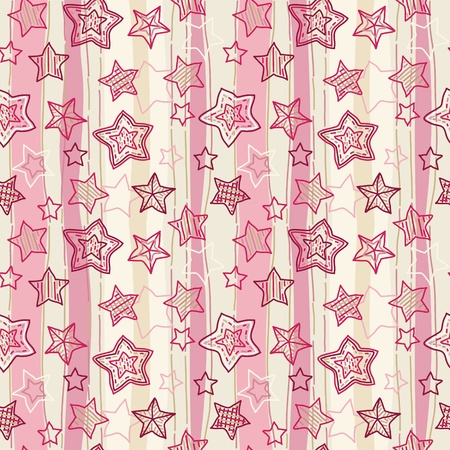 Cute seamless pattern.  Vector