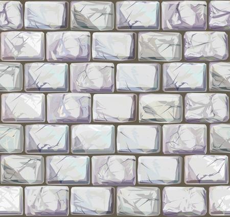 rubble: Vector sin fisuras texturas de piedras en colores blanco