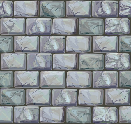 stone mason: Seamless texture of stones in grey colors.