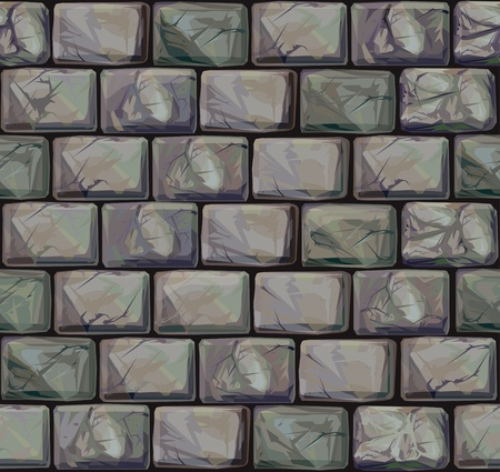 old stone wall: Seamless texture of stones