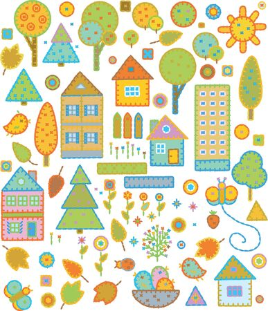 Cute elements for design  Stock Vector - 10510485