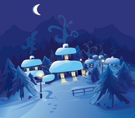 christmas night: Merry Christmas! Happy New Year!!!