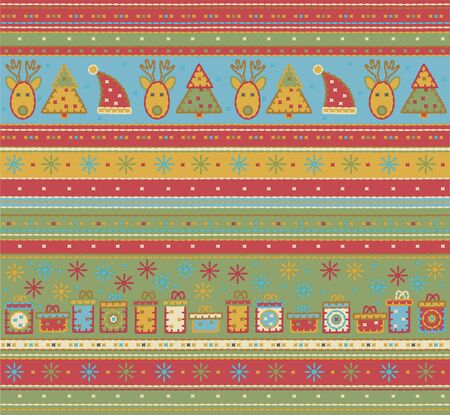 Seamless Christmas pattern.  Stock Vector - 10874904