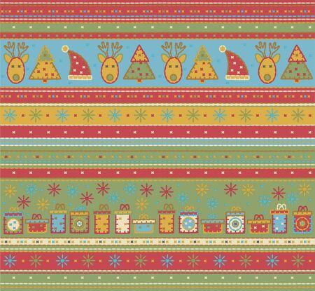 Seamless Christmas pattern. Stock Vector - 10874904