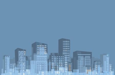 Panorama of city.