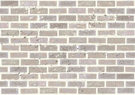 brique: Mur de briques Vecteur transparente, effet sale en niveau s�par�.