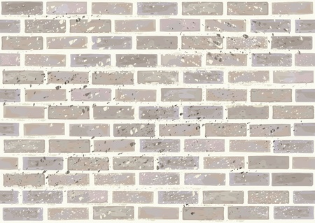 Vector seamless brick wall,dirty effect in separate level. Vector