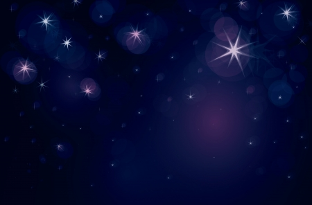 noche estrellada: Estrellada noche con las luces de las estrellas