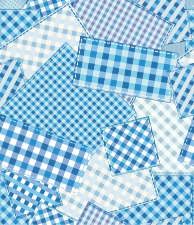 patchwork: Seamless checked pattern, patchwork