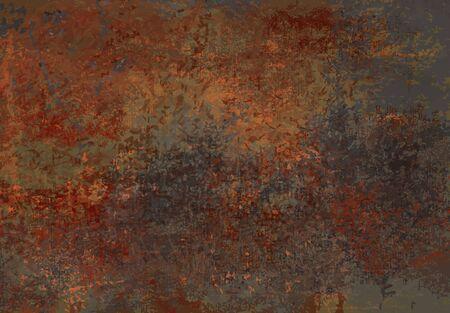 oxidado: Grunge textura de fondo