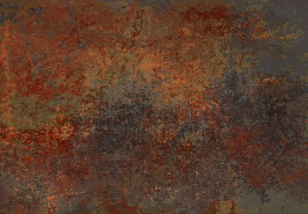 rusty metal: Grunge  texture background Illustration