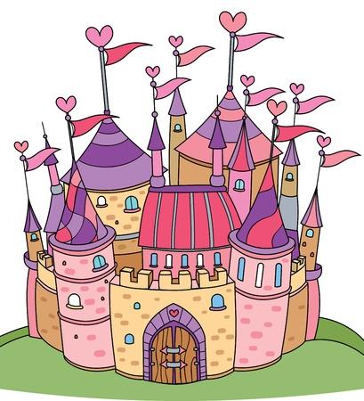 fairy tale castle for girl
