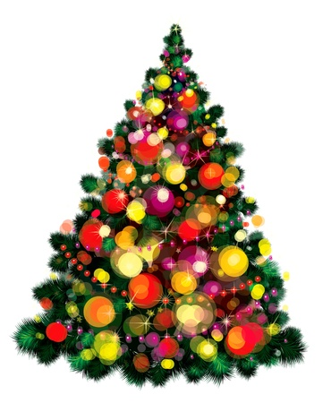 Christmas tree  Stock Vector - 15302900