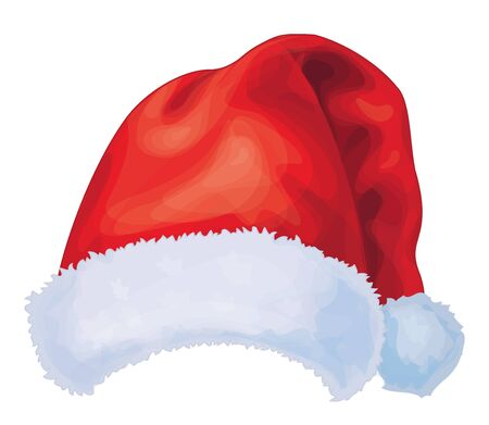 Vector of red Santa Claus hat Stock Vector - 15798944