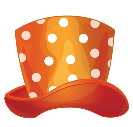 Vector of funny orange hat Stock Vector - 15798949