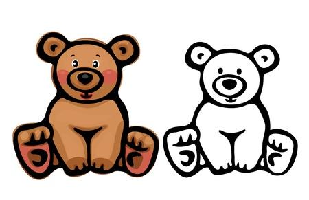 Cute bear   Stock Vector - 15769547