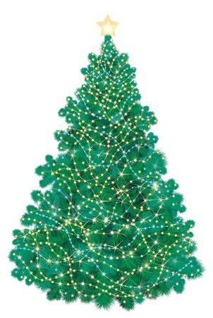 Christmas tree   Stock Vector - 15773842