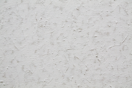 priming: Texture of canvas painted white paint