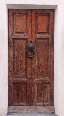 puertas viejas: Textura de la vieja puerta