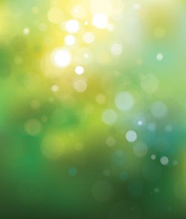 Vector verde luci di sfondo. Archivio Fotografico - 23471912