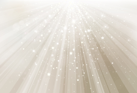 background design: Vector silver background with rays and lights  Illustration