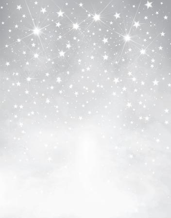 silver starry background  Çizim