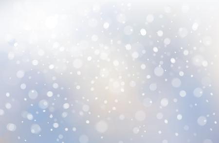 winter scene: Vecto winter scene of snowfall background.
