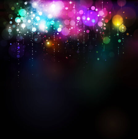 Colorful lights background  photo