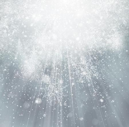 ray of light: Winter background. Stock Photo