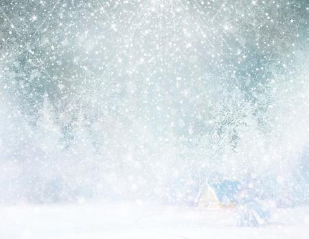Winter background.  photo