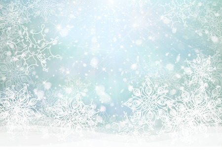 Vector winter background. Vector