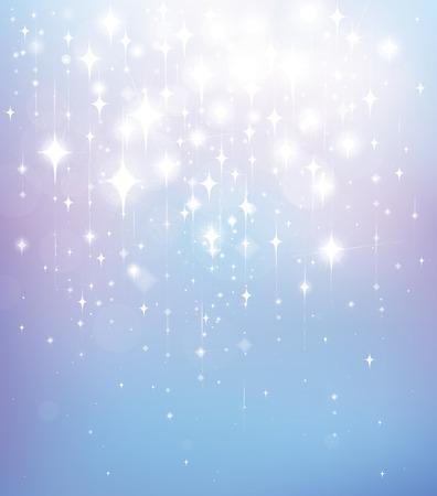 Vector abstract blue bokeh background. Vector
