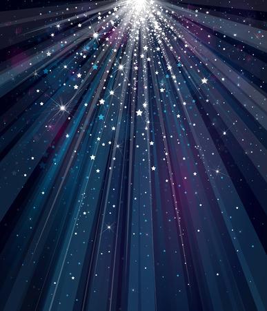 Cielo di sfondo con luci e stelle. Archivio Fotografico - 32612295
