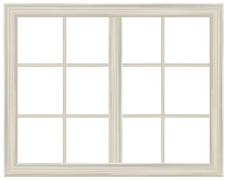 isolar: Vector janela do quadro isolado. Ilustra��o