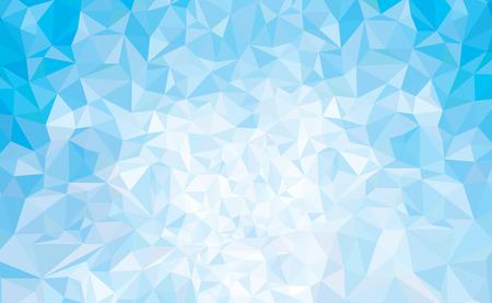 Vector abstracte driehoeken blauwe achtergrond.