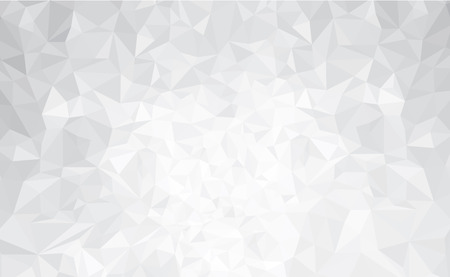 white  background: Vector abstract gray, triangles background.