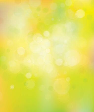 blinking: Vector primavera bokeh de fondo.