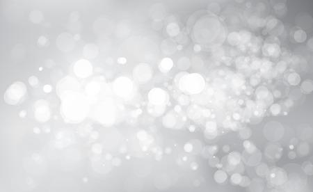Vector glitter silver background. Stock Illustratie