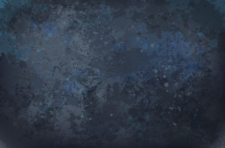 Vector black grunge texture background. Illustration